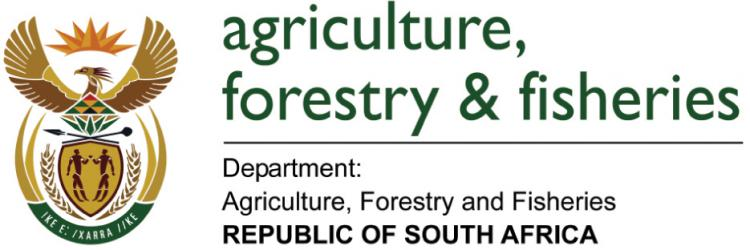 Publication of the South African Department of Agriculture, Forestry & Fisheries Southern African Society of Aquatic Scientists