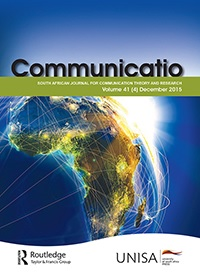 Communicatio: South African Journal for Communication Theory and Research