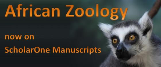 African Zoology now on ScholarOne Manuscripts