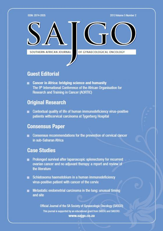 Gynaecological Journal New to NISC
