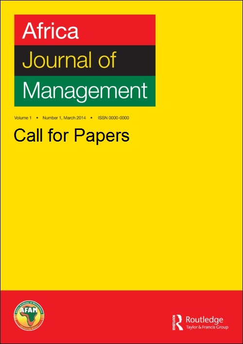 Africa Journal of Management: Call for Papers