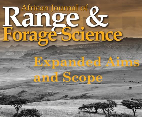 Expanded aims and scope for leading rangeland and pastoral journal