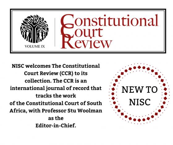 Constitutional Court Review - NEW to NISC