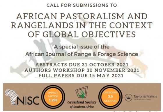 African Pastoralism and Rangelands in the context of Global Objectives