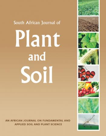 South African Journal of Plant and Soil