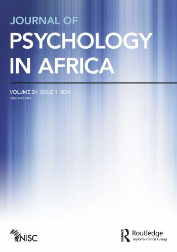 Journal of Psychology in Africa
