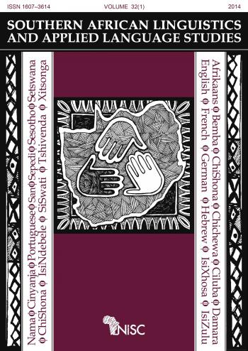 Southern African Linguistics and Applied Language Studies