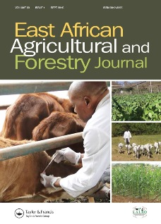 East African Agricultural and Forestry Journal
