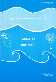 Southern African Journal of Aquatic Sciences