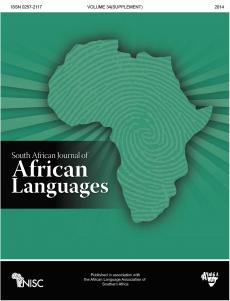 South African Journal of African Languages