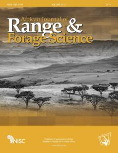 African Journal of Range & Forage Science
