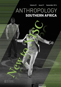 Anthropology Southern Africa - new to NISC