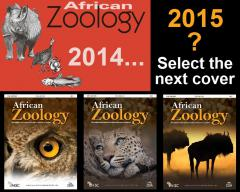 Choose the next cover of African Zoology