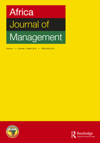 Why <em>Africa Journal of Management</em> and Why Now?