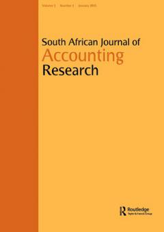 NEW to NISC - South African Journal of Accounting Research
