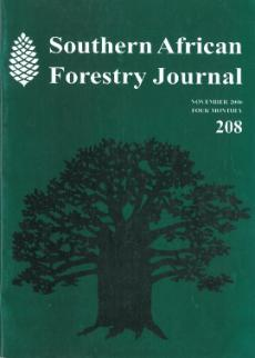 General history of the South African Forest Industry: 2003 to 2006