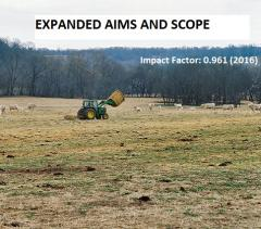 Expansion of aims and scope for leading rangeland journal