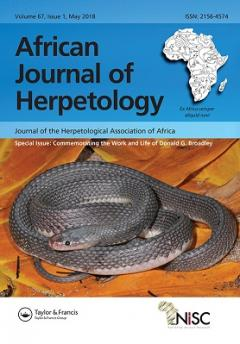 Special Issue: End of an era for African Herpetology