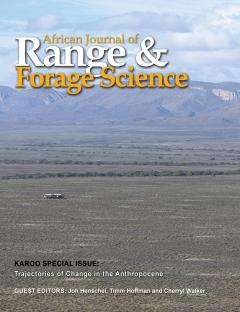 Karoo Special Issue - African Journal of Range and Forage Science