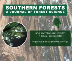 Southern Forests – NOW on ScholarOne