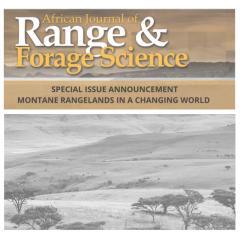 Montane Rangelands in a Changing World