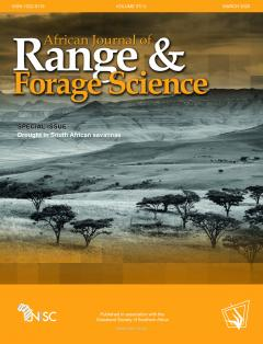Special Issue: Drought in South African savannas
