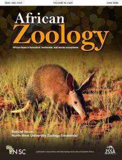 NWU Zoology centennial special issue